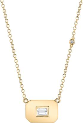 Shay Jewelry Essential Baguette Diamond Necklace