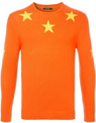 GUILD PRIME stars knit sweater