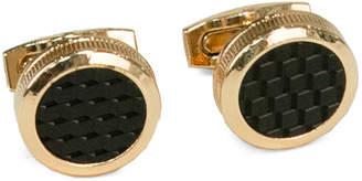Bey-Berk Rose Gold Plated Cufflinks