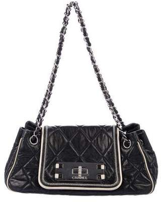 Chanel East/West Accordion Flap Bag