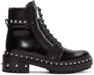 Balmain Black Army Ranger Boots