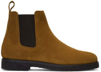 Etq Amsterdam Tan Suede Chelsea Boots