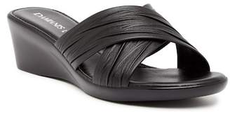 Italian Shoemakers Crisscross Wedge Sandal