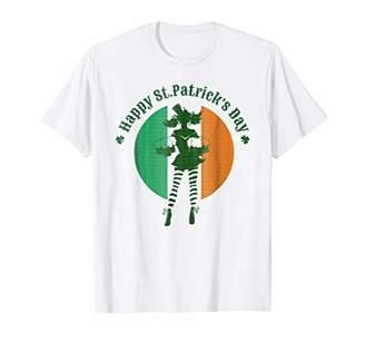 Irish Woman T-Shirt Happy St Patrick's Day
