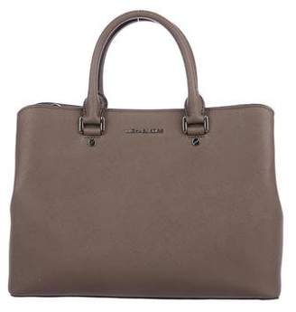 Michael Kors Michael Saffiano Leather Satchel