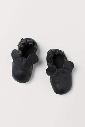H&M Soft Slippers - Black