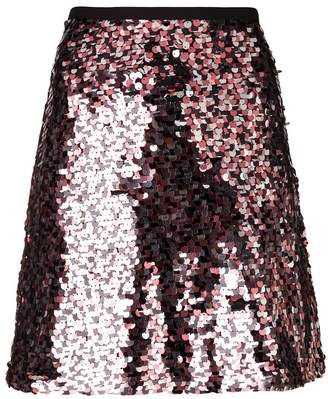 McQ short sequined skirt
