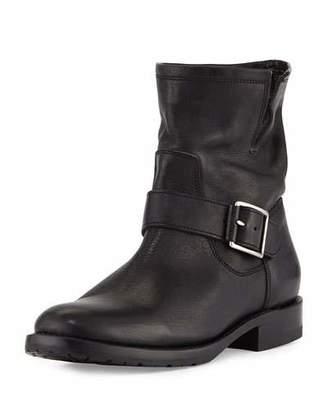 Frye Natalie Short Engineer Boot, Black $348 thestylecure.com