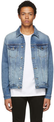 Frame Blue Denim LHomme Jacket