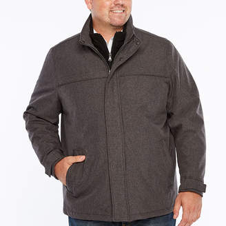 Dockers Filled Softshell Carcoat Jacket with Bib-Big and Tall