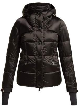 Moncler Antabia Hooded Down Filled Ski Jacket - Womens - Black