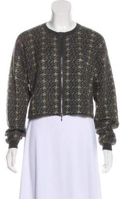 Marni Houndstooth Knit Jacket