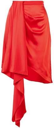 Fleur Du Mal asymmetric mini skirt