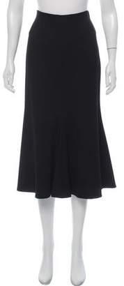 Rosetta Getty Flared Midi Skirt w/ Tags