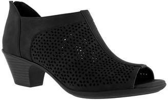 Easy Street Shoes Peep Toe Booties - Steff