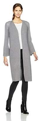Calvin Klein Women's Long Flare Sleeve Cardigan