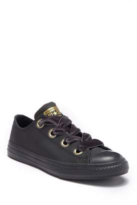 Converse Chuck Taylor All Star Big Eyelets Oxford Leather Sneaker (Little Kid & Big Kid)