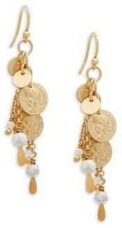 Chan Luu Sterling Silver Dangle Earrings