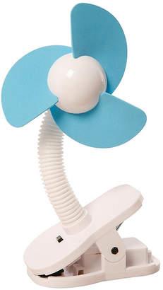Contribute ホワイト×ブルー ベビーカー扇風機 クリップオン ファン