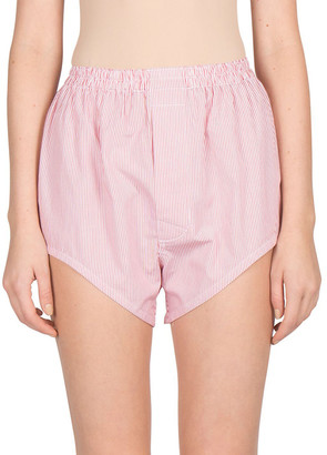 Maison Margiela Striped Bloomer Short