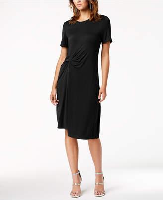 Rachel Roy Draped-Front Dress, Created for Macy's