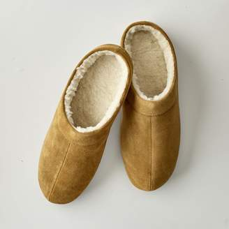 Mark And Graham Men's Suede Slippers