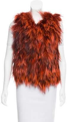 Oscar de la Renta 2015 Fur Vest w/ Tags