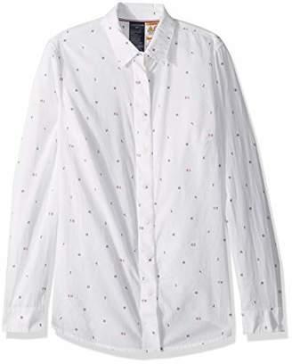 Tommy Hilfiger Women's Magnetic Button Shirt Regular Fit
