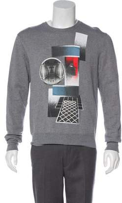 Christian Dior Graphic Knit Sweatshirt