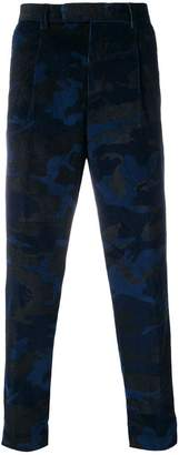 Moncler camo corduroy trousers