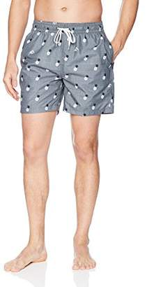 Kanu Surf Men's Pineapples Quick Dry Beach Volley Swim Trunk