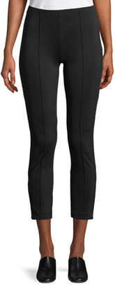 The Row Andir Cropped Stretch-Knit Pants
