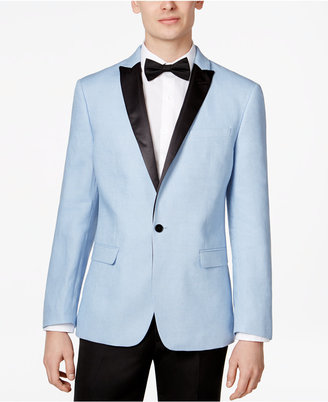 Bar III Men's Slim-Fit Linen Dinner Jacket, Only at Macy's $295 thestylecure.com