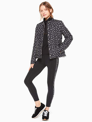 Kate Spade Reversible Quilted Jacket, Black - Size XL
