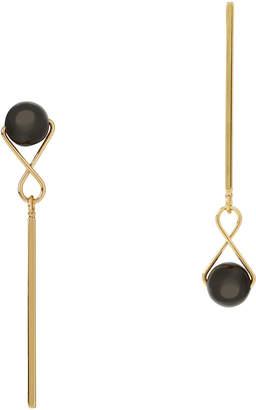 Jardin Mismatched Orb Drop Earrings