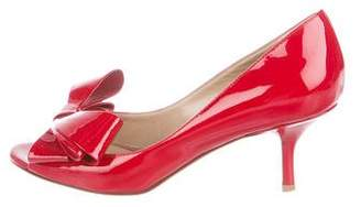 0acaa5f827f Pre-Owned at TheRealReal · Valentino Patent Leather Bow Pumps