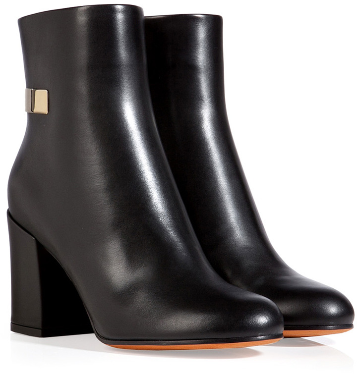 Givenchy Ankle Boots in Black/Gold
