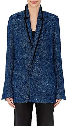 Haider Ackermann Women's Sequined Bouclé Blazer