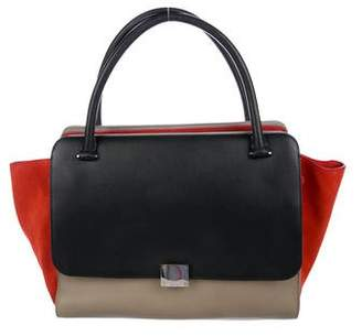Celine Double Zipper Trapeze Bag