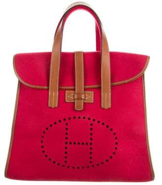 Hermes Wool Feudou Bag
