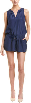 Julie Brown Silk Romper