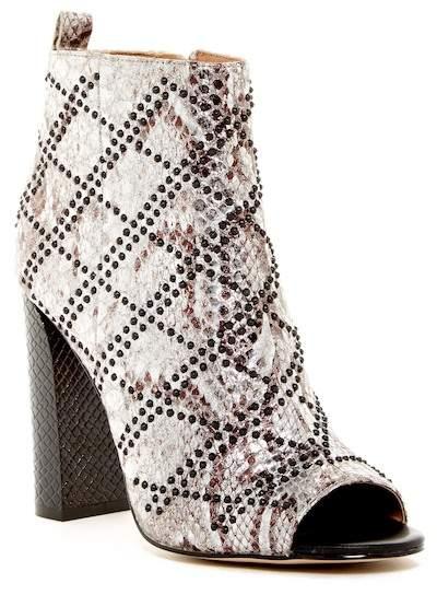 Calvin Klein Jules Studded Peep Toe Bootie