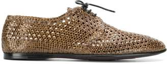 Dolce & Gabbana woven derby shoes