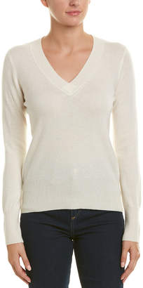 Sofia Cashmere sofiacashmere Sofiacashmere V-Neck Cashmere Sweater