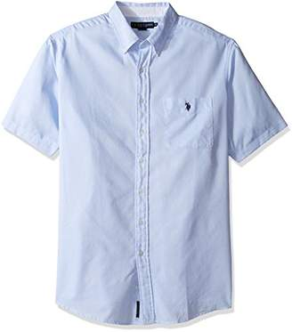 U.S. Polo Assn. Men's Big and Tall Classic Fit Single Pocket Stripe