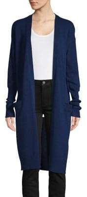Theory Lightweight Open Front Cardigan