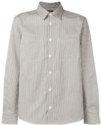 A.P.C. pinstripe button shirt