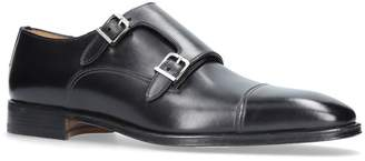 Stemar Double Buckle Monk Shoes