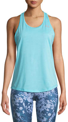 Under Armour Swyft Racerback Running Tank, Blue