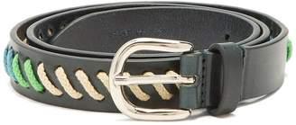 Isabel Marant Zitty whipstitched leather belt
